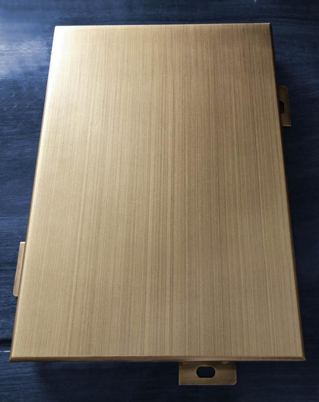 转印木纹铝单板怎么做成的?