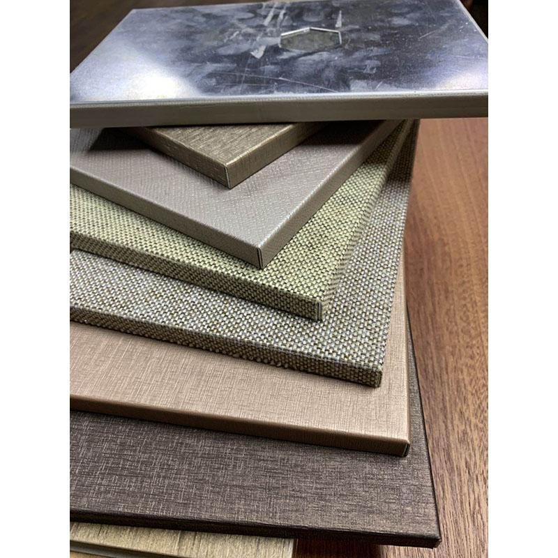 木纹石纹铝单板