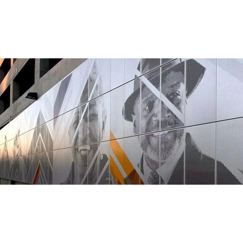 艺术冲孔铝单板