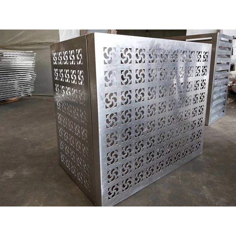 铝合金空调罩不同于其他材料的优点