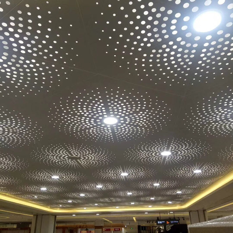 冲孔铝单板幕墙的特点及应用领域